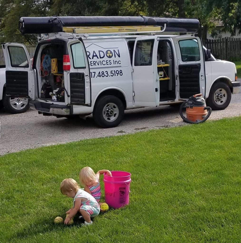 Radon Services Inc Vehicle